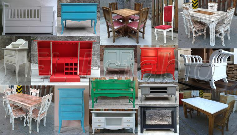 juegos deedor muebles rusticos estilo campo cristalero en tigre